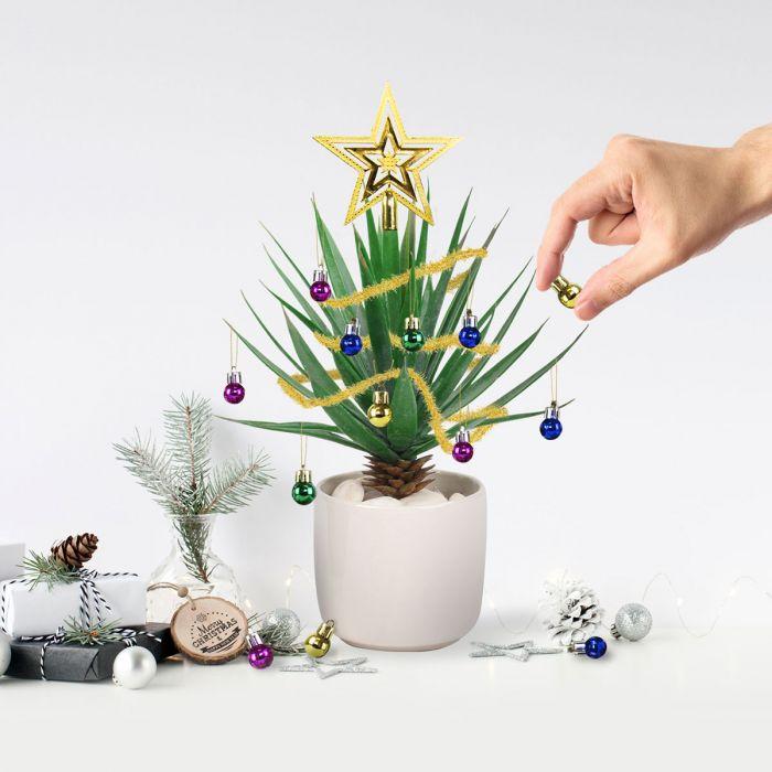 Décorations d'Arbre de Noël pour Plantes d'Intérieur