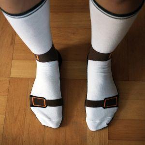 Les chaussettes sandales