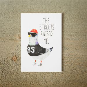 Carte de vœux Street Pigeon