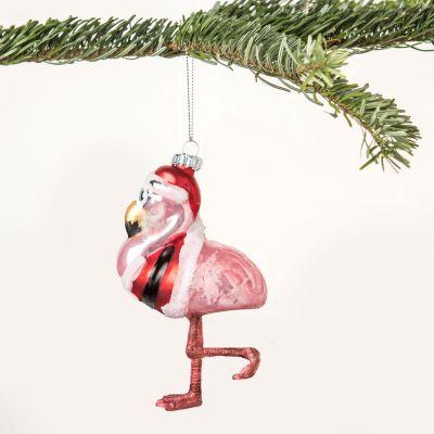 Idées cadeaux pour mettre dans le calendrier de l'avent - Boule de Noël Mr. Flamant