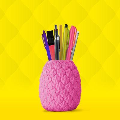 Fun au bureau - Pot à crayon Ananas