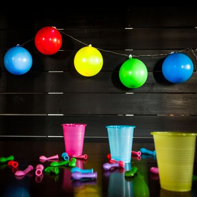 Barbecue - Guirlande lumineuse Ballons