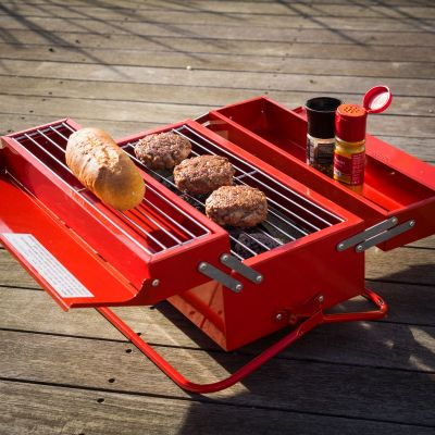 Cadeau anniversaire papa - Caisse à outils Barbecue
