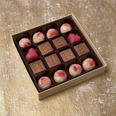 Cadeau anniversaire de mariage - Truffes au Chocolat Be Mine