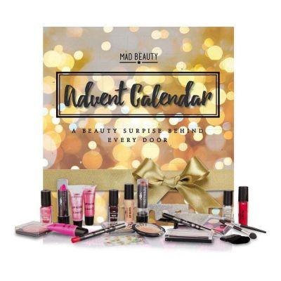 Idées cadeaux pour mettre dans le calendrier de l'avent - Mad Beauty Calendrier de l'Avent