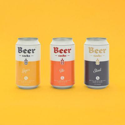Idées cadeaux pour mettre dans le calendrier de l'avent - Chaussettes Bière