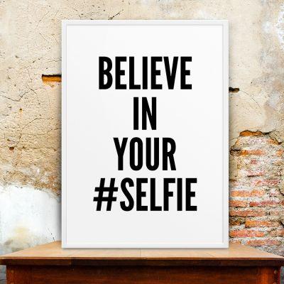 Poster à la carte - Selfie Poster par MottosPrint