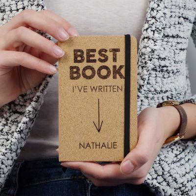 Carnets exclusifs - Carnet en liège Personnalisable - Best Book