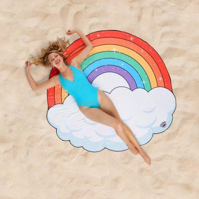 Cadeau Enfant - Serviette de plage Arc-en-ciel