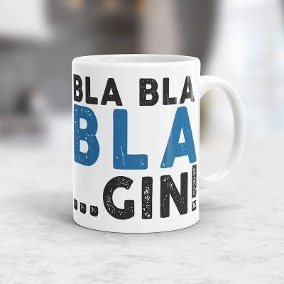 Cadeau 50 ans - Tasse Personnalisable Bla Bla