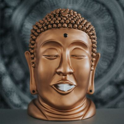 Idées cadeaux parents - Distributeur de mouchoirs Bouddha