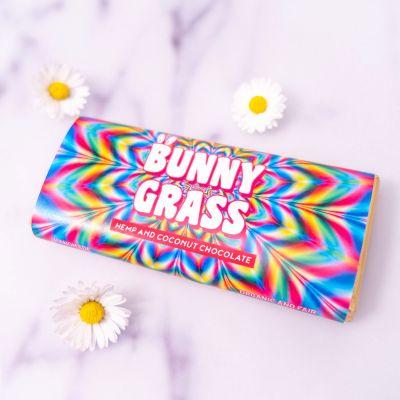 Idées cadeaux pour mettre dans le calendrier de l'avent - Bunny Grass - Chocolat au chanvre