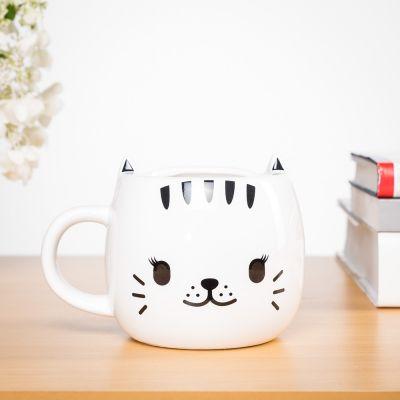 Cadeaux de Noël pour maman - Tasse Chat thermosensible