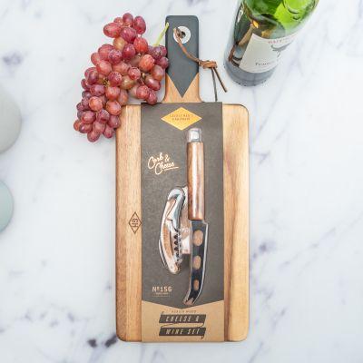 Cadeau d'adieu - Set Vin & Fromage