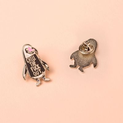 Accessoires - Pin's Pingouin Chill Out