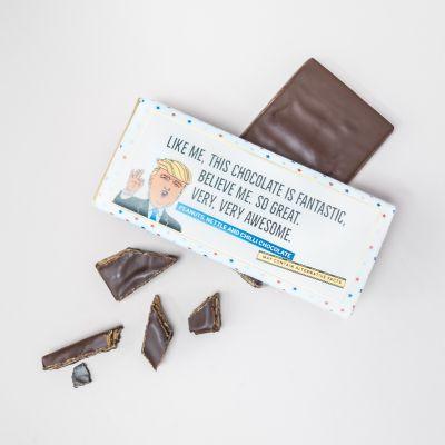 Cadeau d'adieu - Chocolat Trump