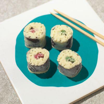 Idées cadeaux parents - Chocolats Sushi
