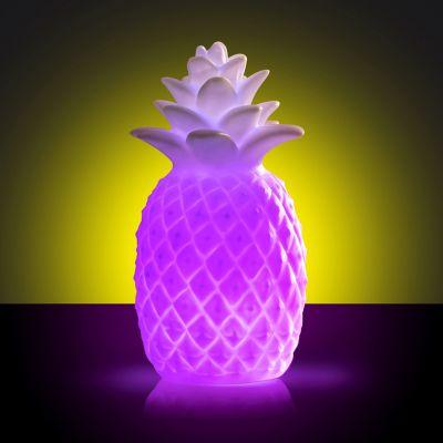 Cadeau 18 ans - Lumière colorée Ananas
