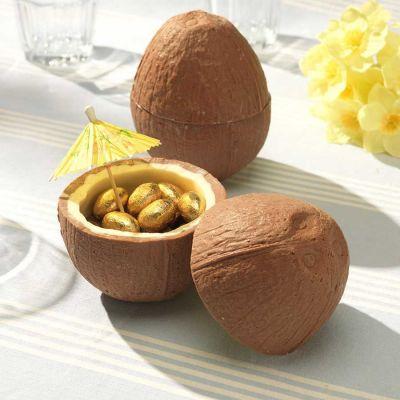 Idées cadeaux parents - Noix de coco en Chocolat (avec ses petits œufs en chocolat)