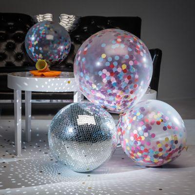 Mardi Gras - Ballons Géants avec Confettis