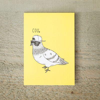 Cartes - Carte de vœux Pigeon Cool