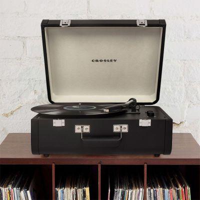 Cadeau 50 ans - Platine Vinyle Crosley Portfolio avec Bluetooth & USB