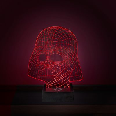 L'univers Star Wars - Lampe Star Wars LED - Effet 3D