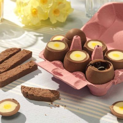 Bonbons - Œufs Mollets en Chocolat