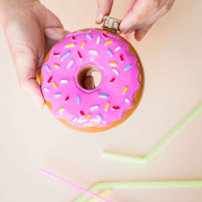 Cadeaux de Noël pour maman - Flasque Donut