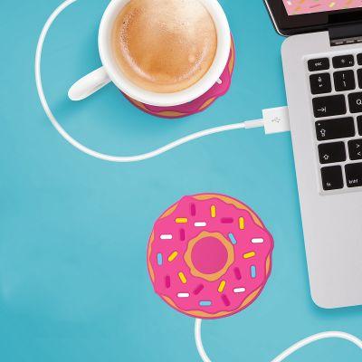 Cadeaux rigolos - Chauffe-tasse USB Donut