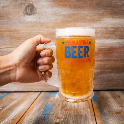 Verres & Mugs - Verre à Bière Toujours Plein