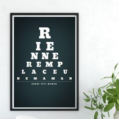 Poster - Vision de Loin - Poster personnalisable