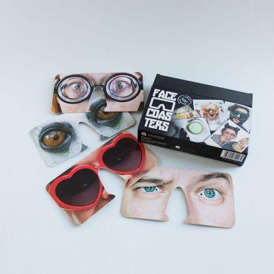 Cadeau 18 ans - Masques Face Coasters