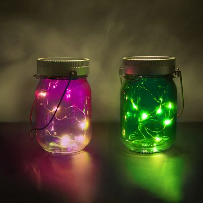 Cadeau d'Halloween - Fairy Jars - lot de 2