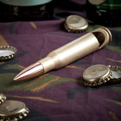 Idées cadeaux pour mettre dans le calendrier de l'avent - Le décapsuleur cartouche calibre 50