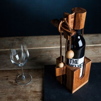 Cadeau 50 ans - Puzzle casse-tête bouteille