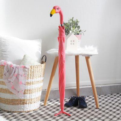 Idées cadeaux pour mettre dans le calendrier de l'avent - Parapluie Flamant Rose