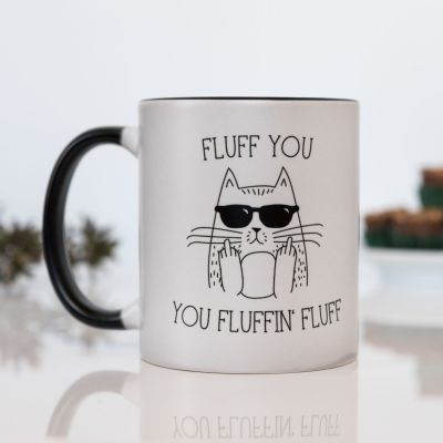 Cadeau 18 ans - Tasse Thermosensible Fluff You