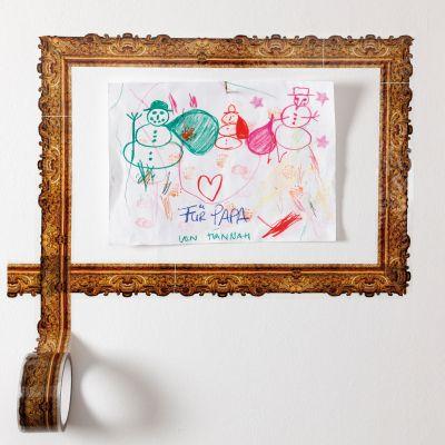 Idées cadeaux pour mettre dans le calendrier de l'avent - Ruban Adhésif pour faire des cadres artistiques