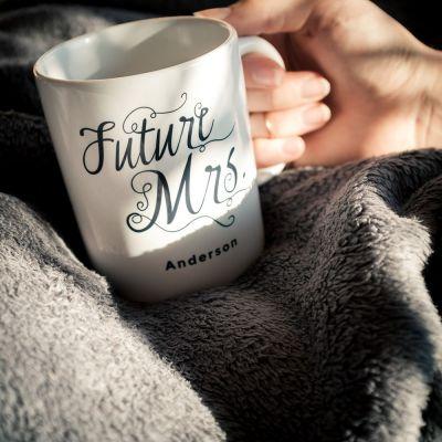 Verres & Mugs - Tasse personnalisable Future Mrs.