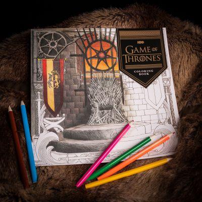 Cadeau pour son copain - Cahier de coloriages Game of Thrones
