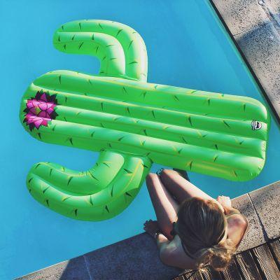 Eau & Plage - Matelas gonflable Cactus