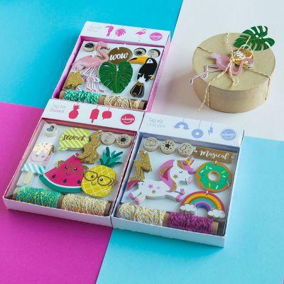 Idées cadeaux pour mettre dans le calendrier de l'avent - Kit Étiquettes cadeaux Tendances