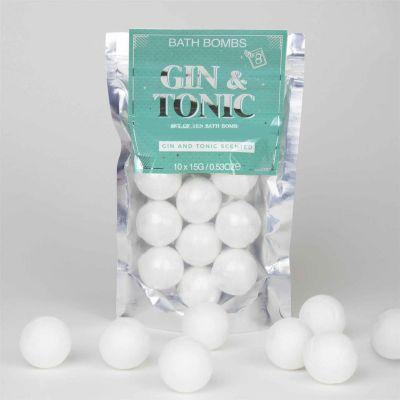 Idées cadeaux pour mettre dans le calendrier de l'avent - Bombes de bain Gin Tonic