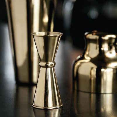 Accessoires de bar - Double Doseur Doré