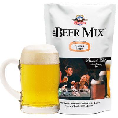 Cadeau 40 ans - Ingrédients pour la machine à bière – Golden Lager, Viennoise et Red Lager canadienne