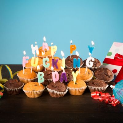 Jeux & Farces - Bougies Happy Fucking Birthday