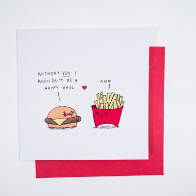 Cartes - Carte de vœux Happy Meal