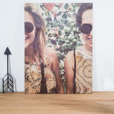Cadeau couple - Photo Personnalisable sur Bois