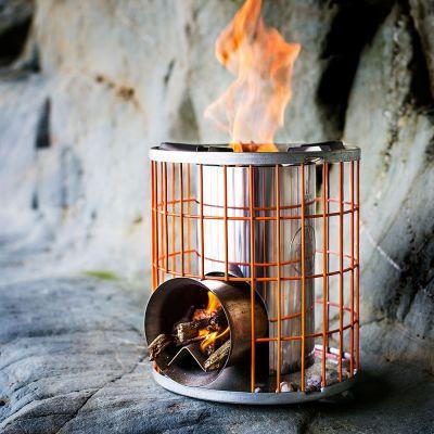 Outdoor - Poêle à bois Horizon Camping